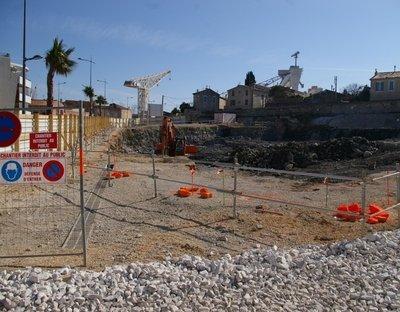 Ce terrain des anciens chantiers de La Ciotat devait accueillir la maison de retraite que visait Bernard Barresi.